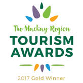 Riviera Mackay - 2017 Gold Winner of Tourism Awards